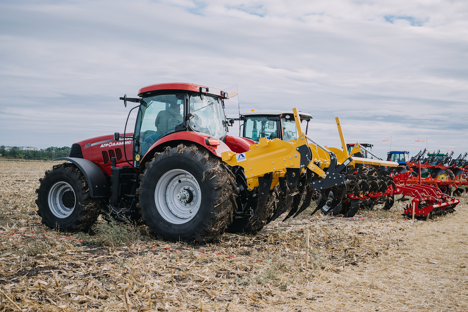 Equipment finance to buy new trucks and tractors for work